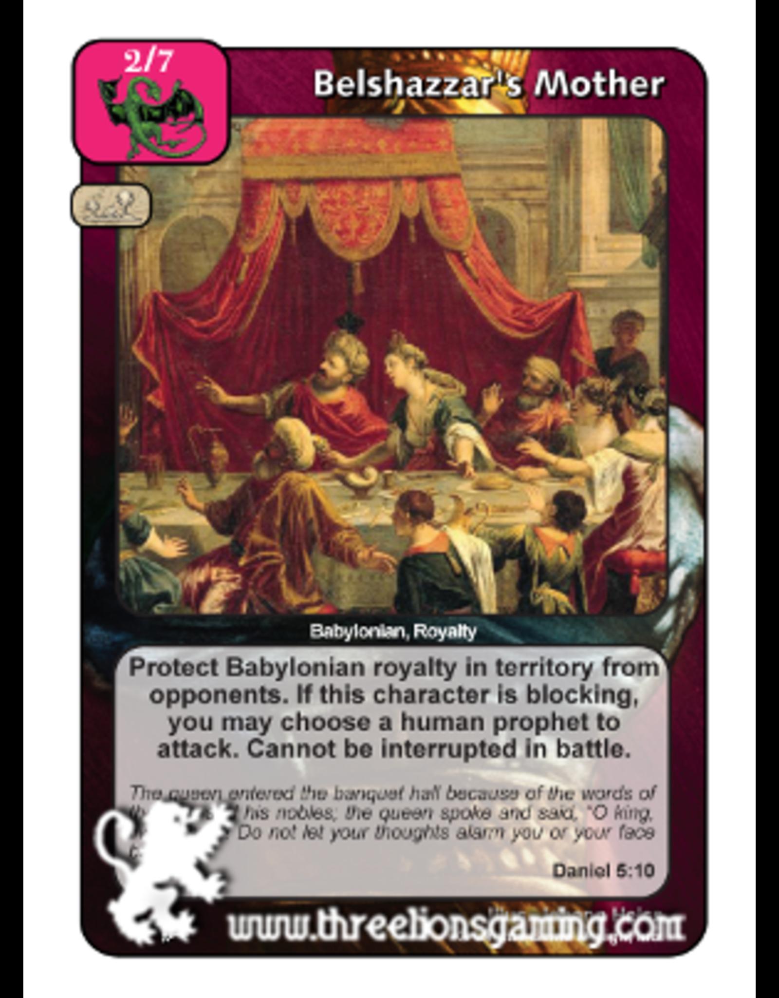PoC: Belshazzar's Mother