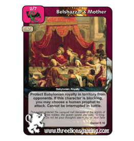 PoC: Belshazzar's Mother