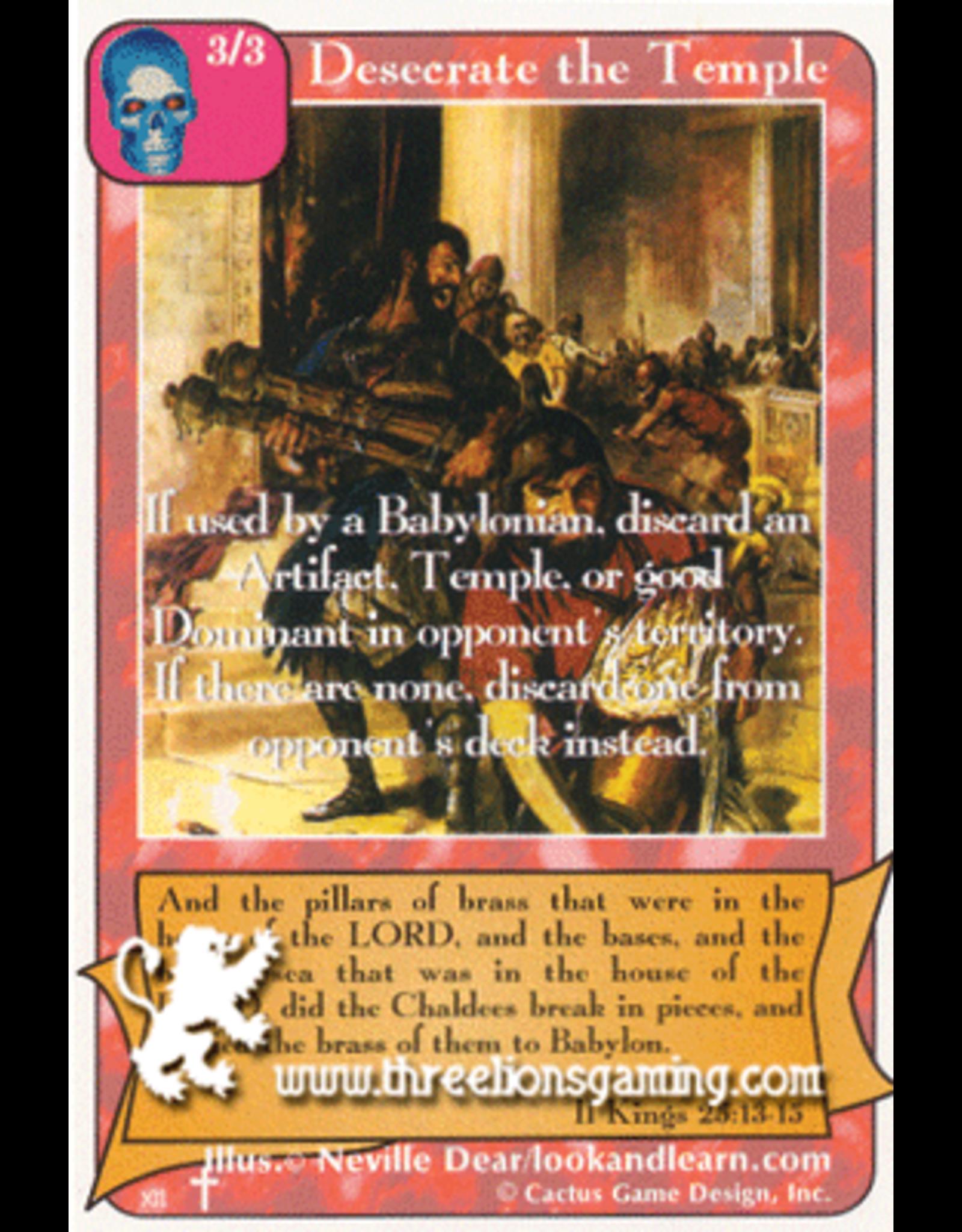 Desecrate the Temple (RA)