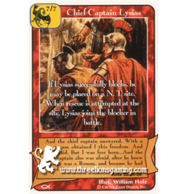 Ap: Chief Captain Lysias