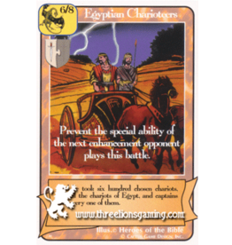 G/H: Egyptian Charioteers