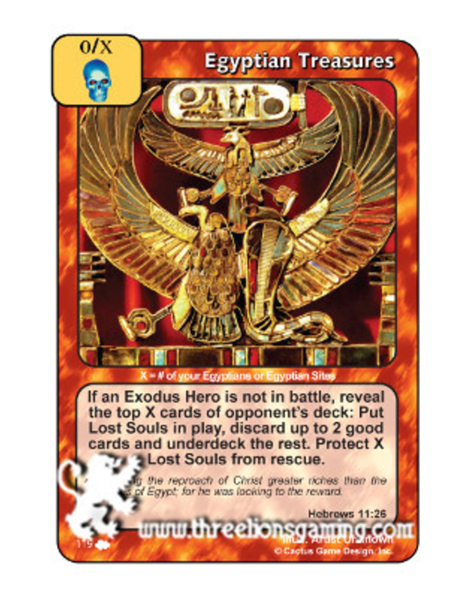 Egyptian Treasures (CW)
