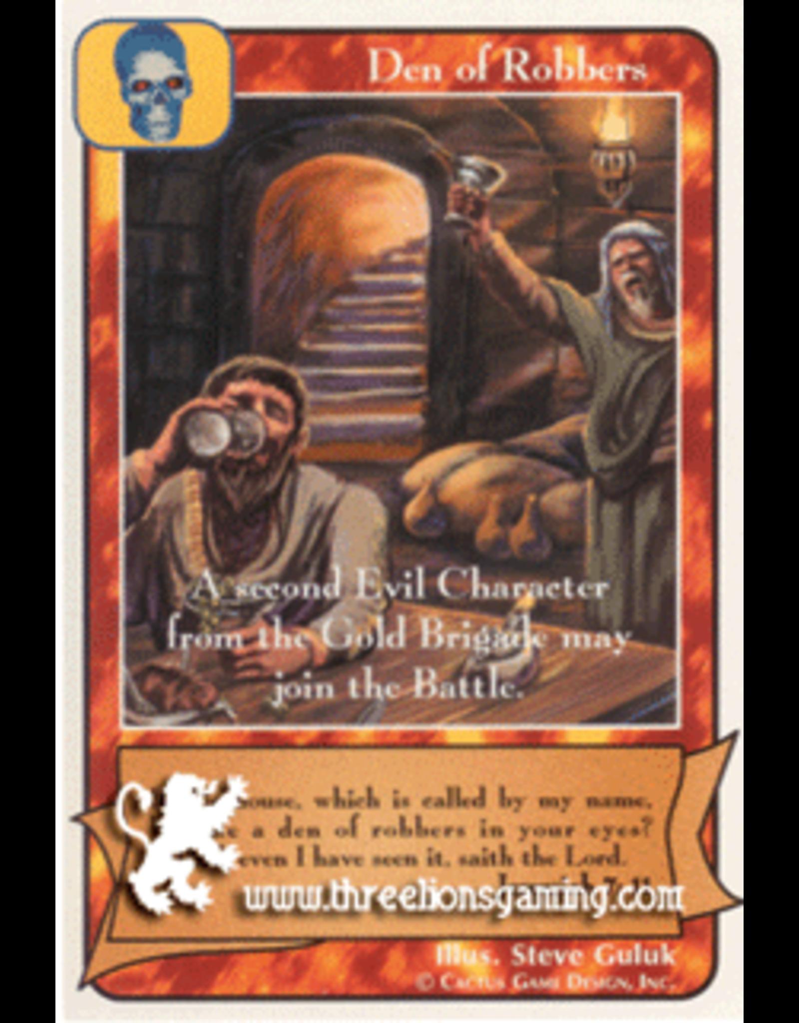 Prophets: Den of Robbers