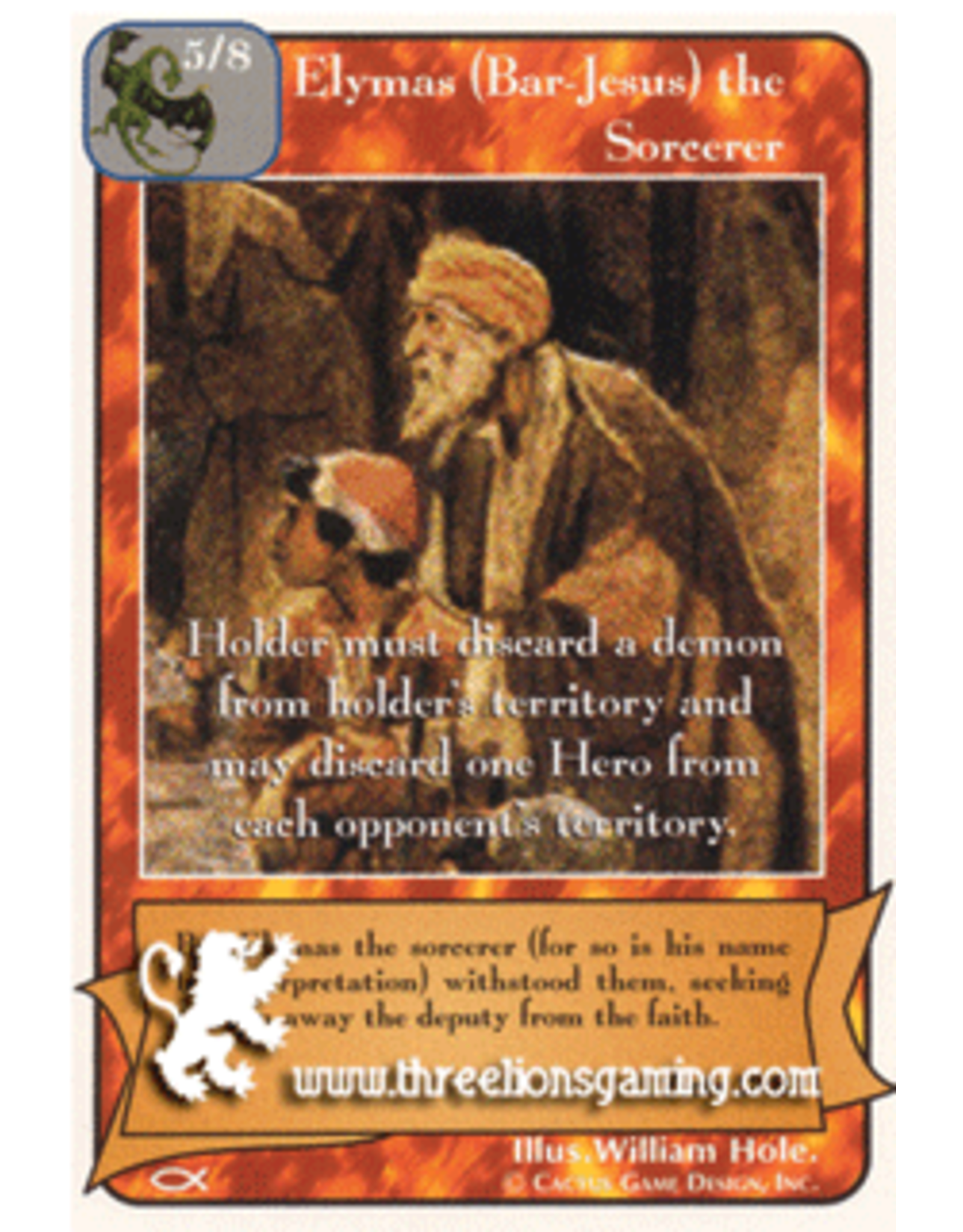 Elymas (Bar-Jesus) the Sorcerer (AP)