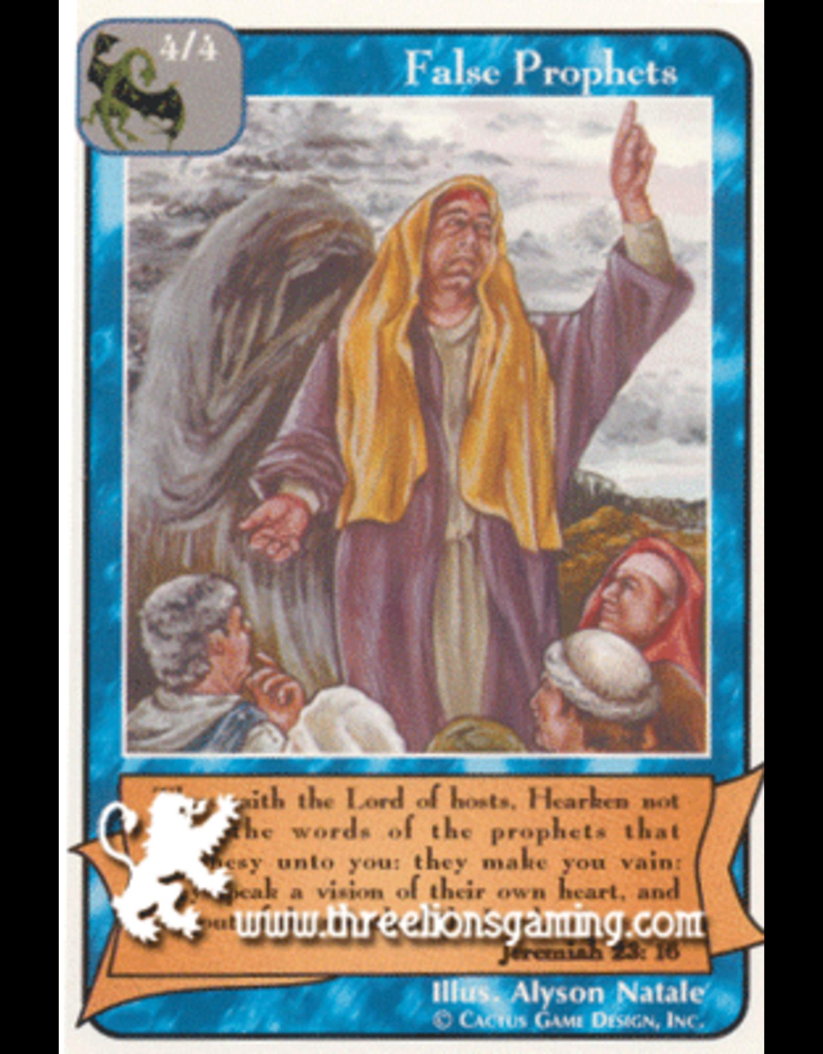 Prophets: False Prophets