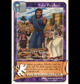 Prophets: False Prophesy