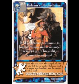 Balaam's Disobedience