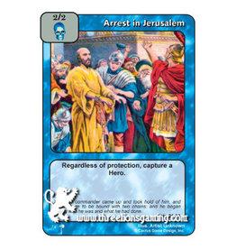 Arrest in Jerusalem
