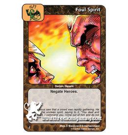 I/J: Foul Spirit