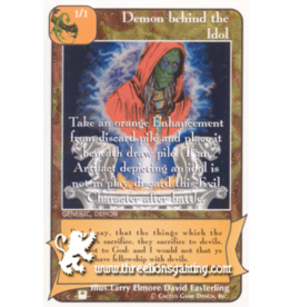 Demon behind the Idol