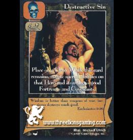 Destructive Sin