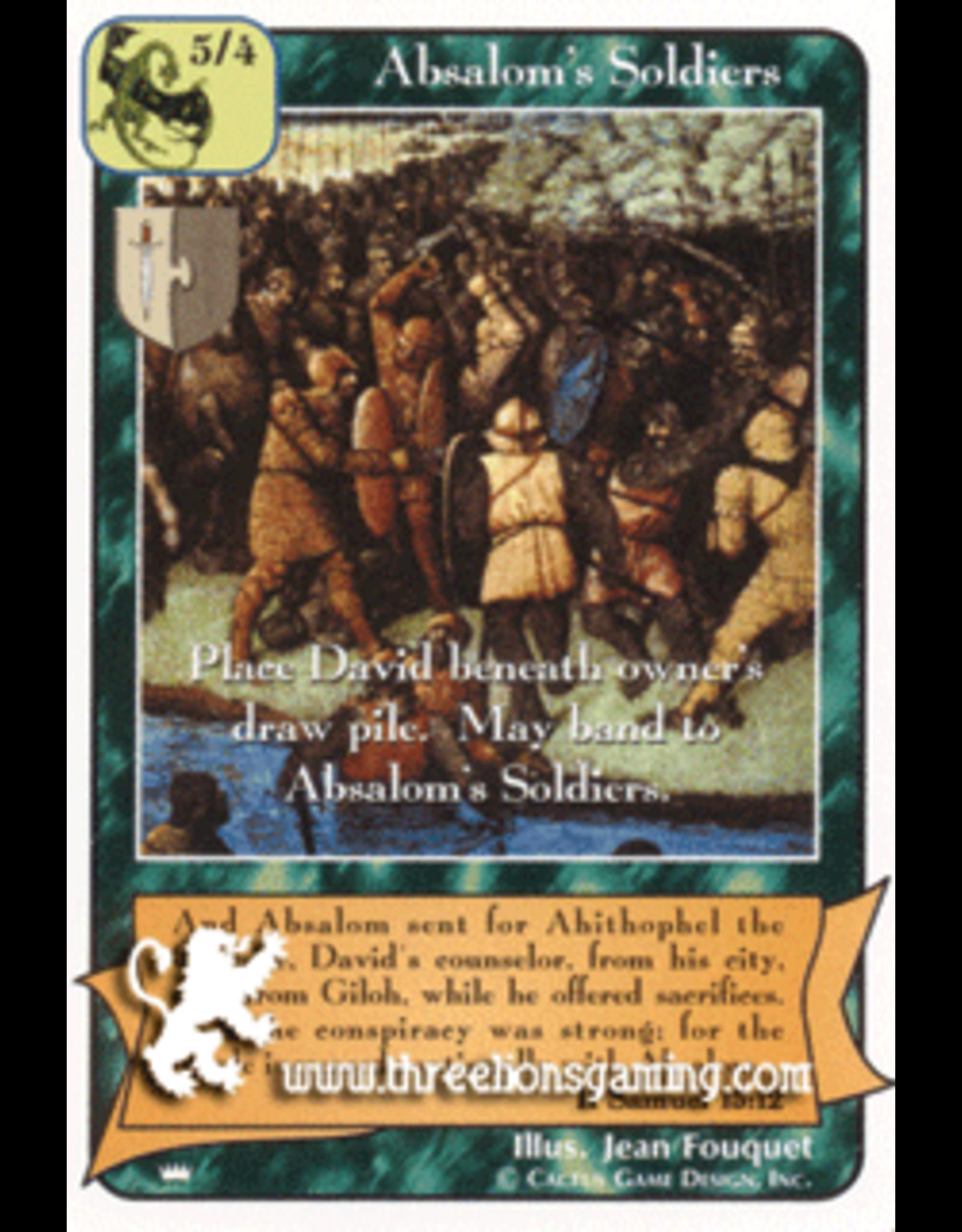 Ki: Absalom's Soldiers