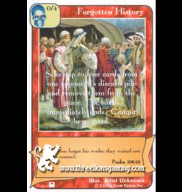 Forgotten History