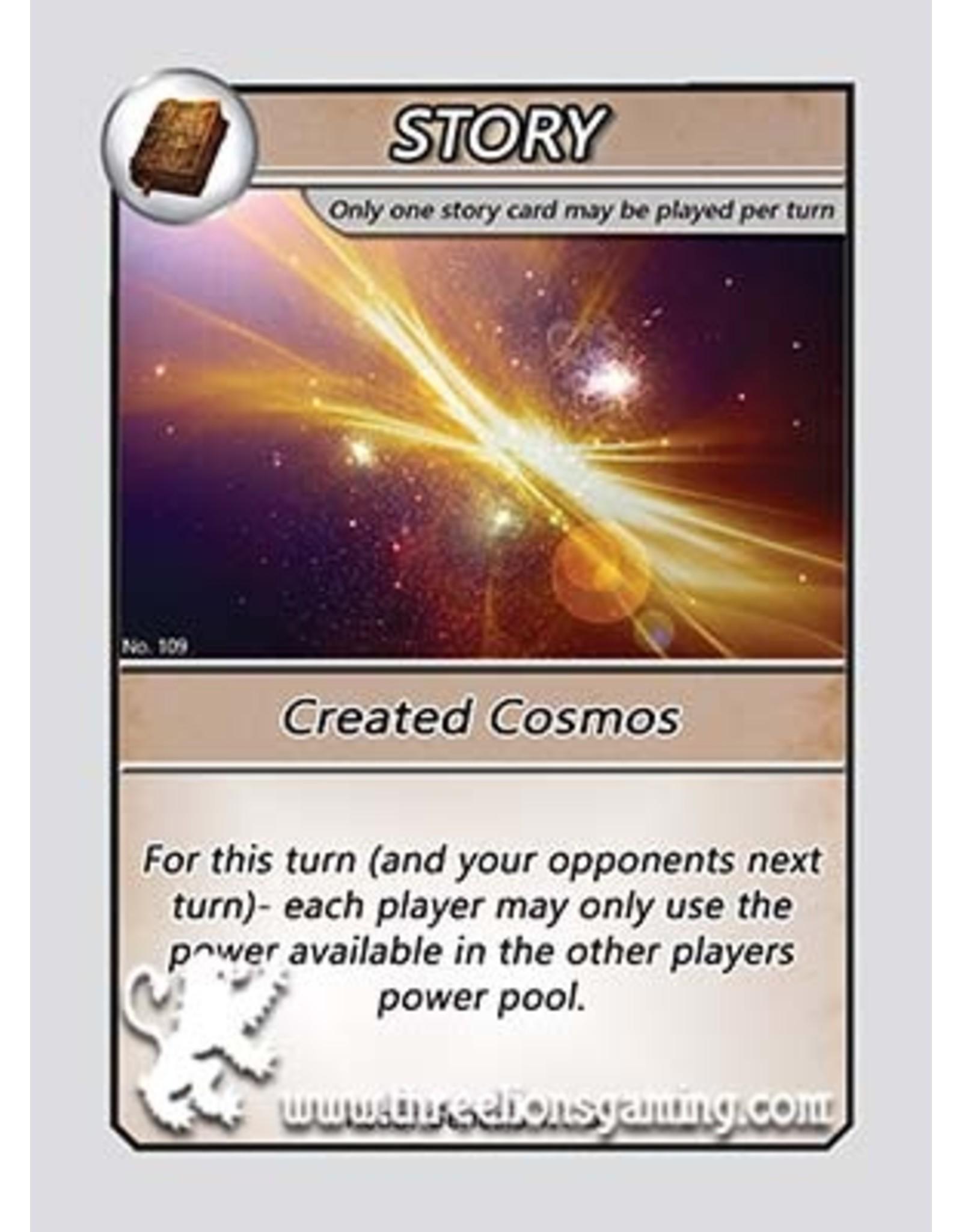 S1: Created Cosmos