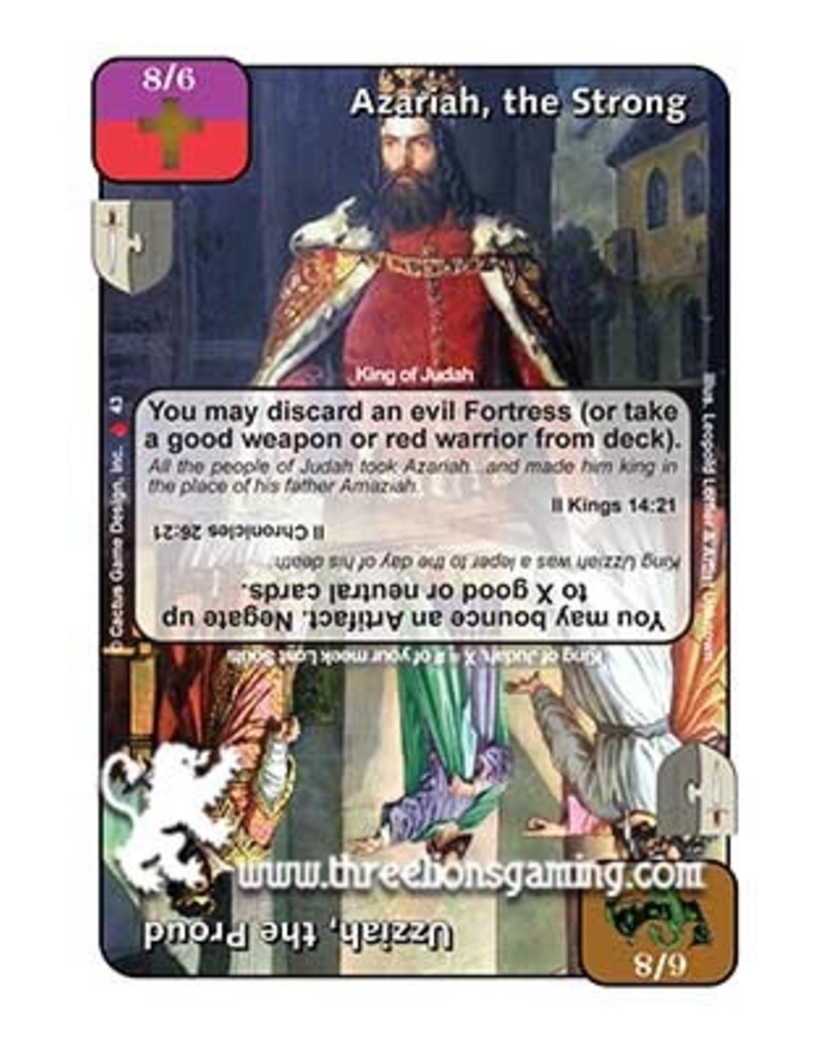 LoC: Azariah, the Strong / Uzziah, the Proud