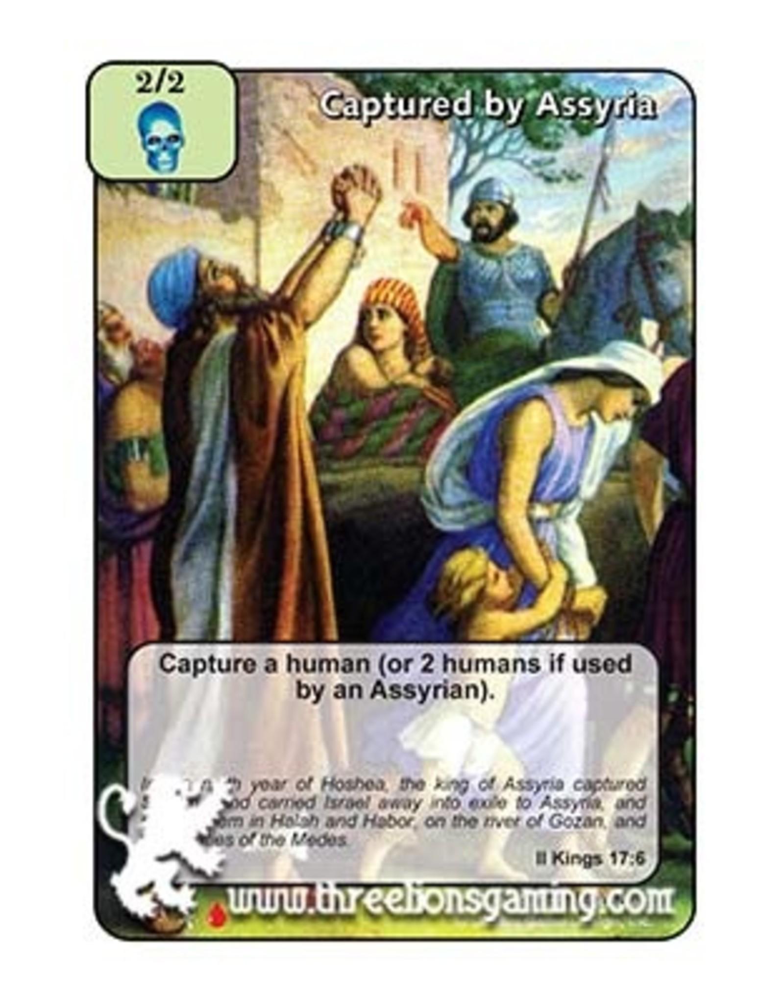 LoC: LR Captured by Assyria