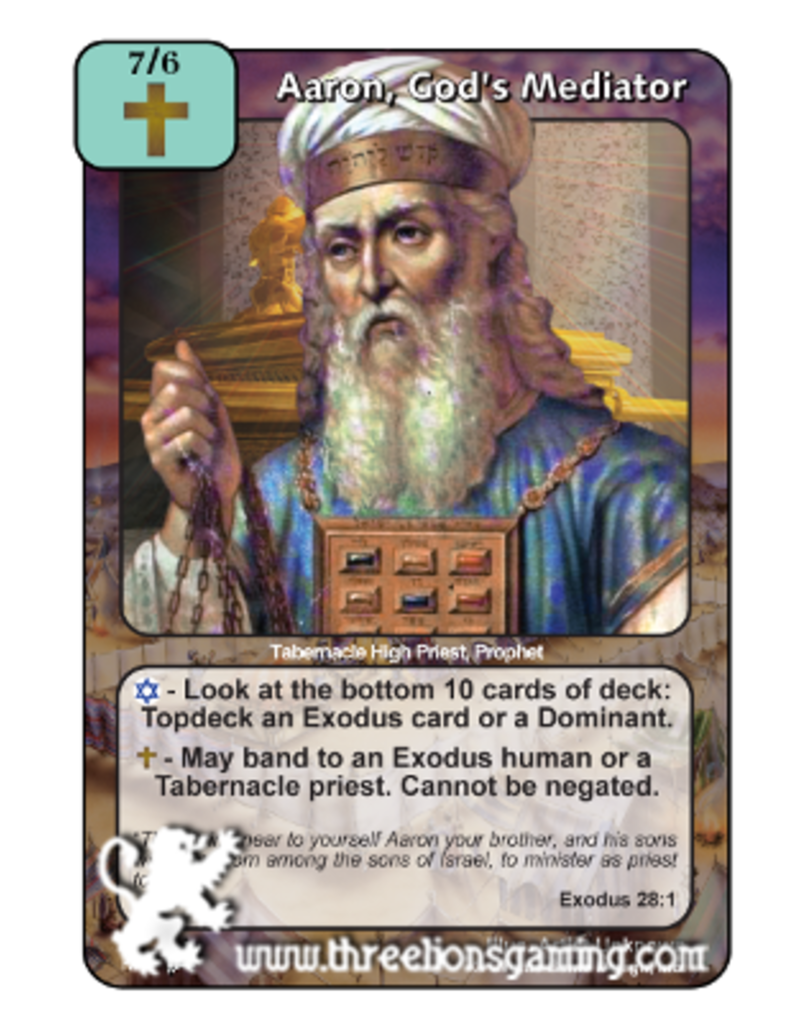 PoC: Aaron, God's Mediator