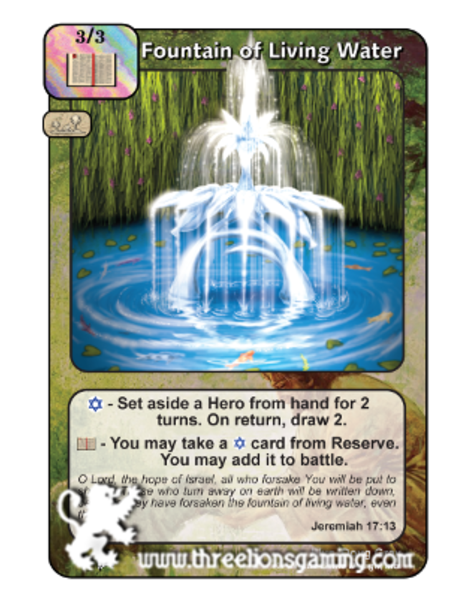 PoC: Fountain Of Living Water