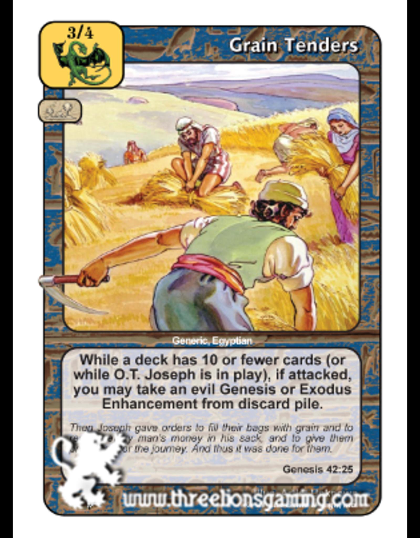 PoC: Grain Tenders