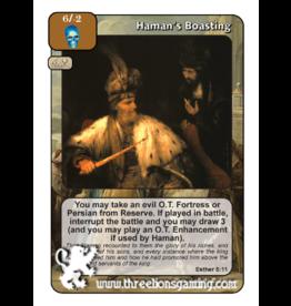 Haman's Boasting