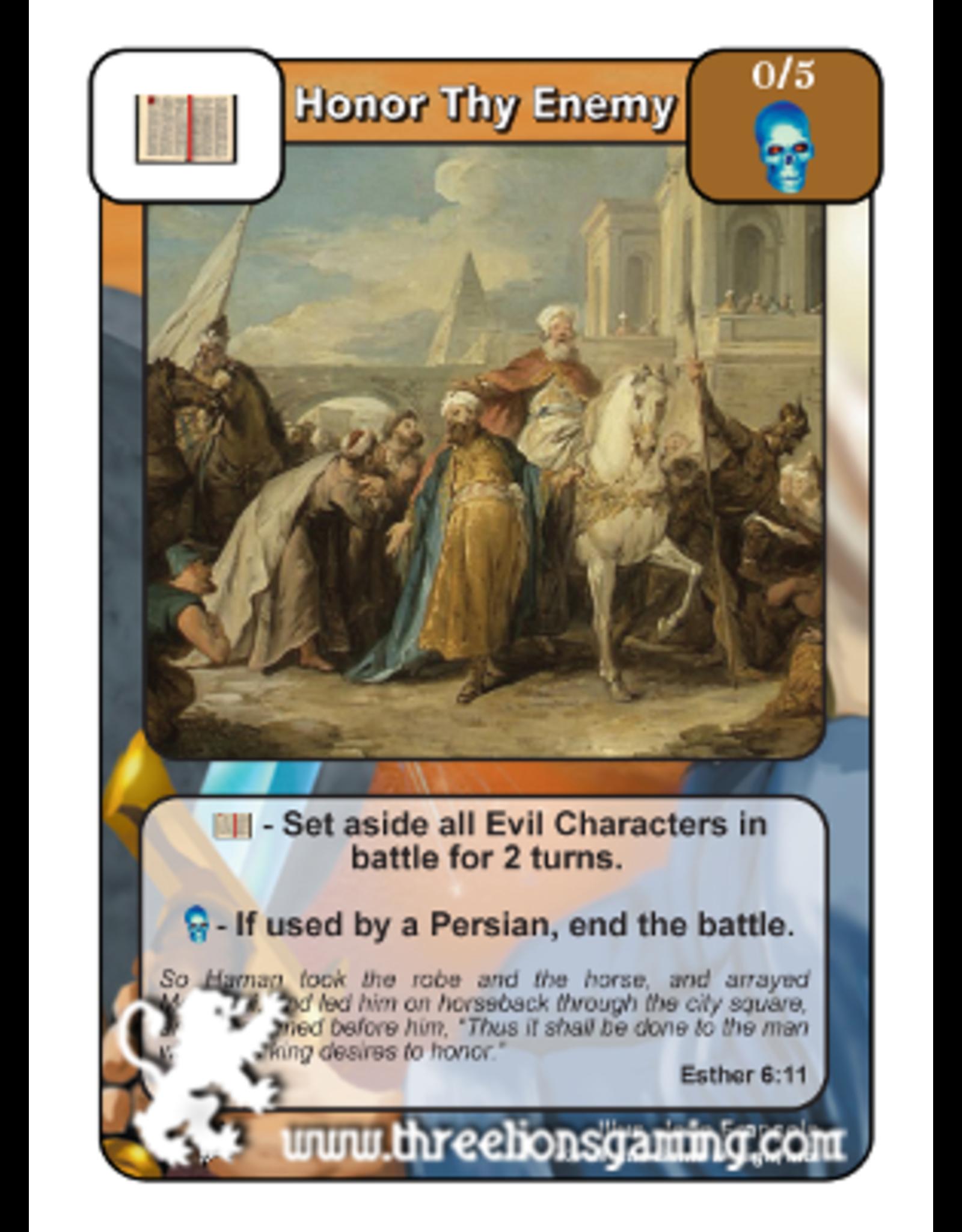 Honor Thy Enemy (PoC)