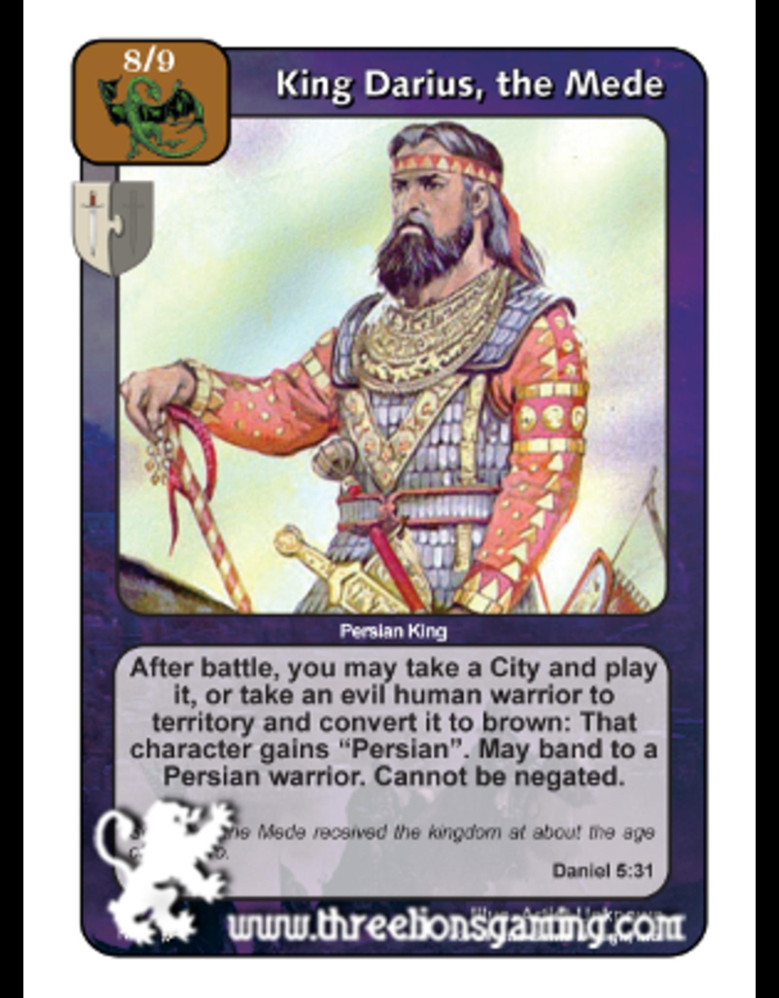 King Darius, the Mede (PoC)