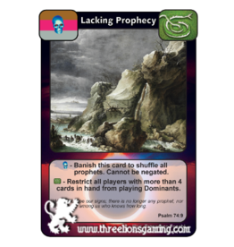 PoC: Lacking Prophecy