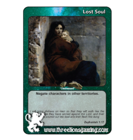 "PoC: Lost Soul ""Distressed"" (Zephaniah 1:17)"