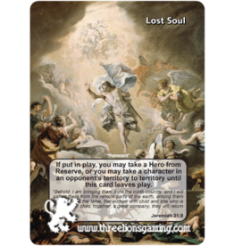 "Lost Soul ""Remnant"" (Jeremiah 31:8)"