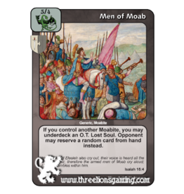 PoC: Men of Moab