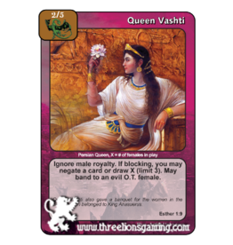 PoC: Queen Vashti