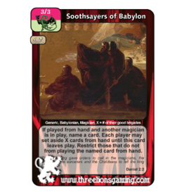 PoC: Soothsayers of Babylon