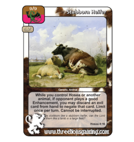 PoC: Stubborn Heifer