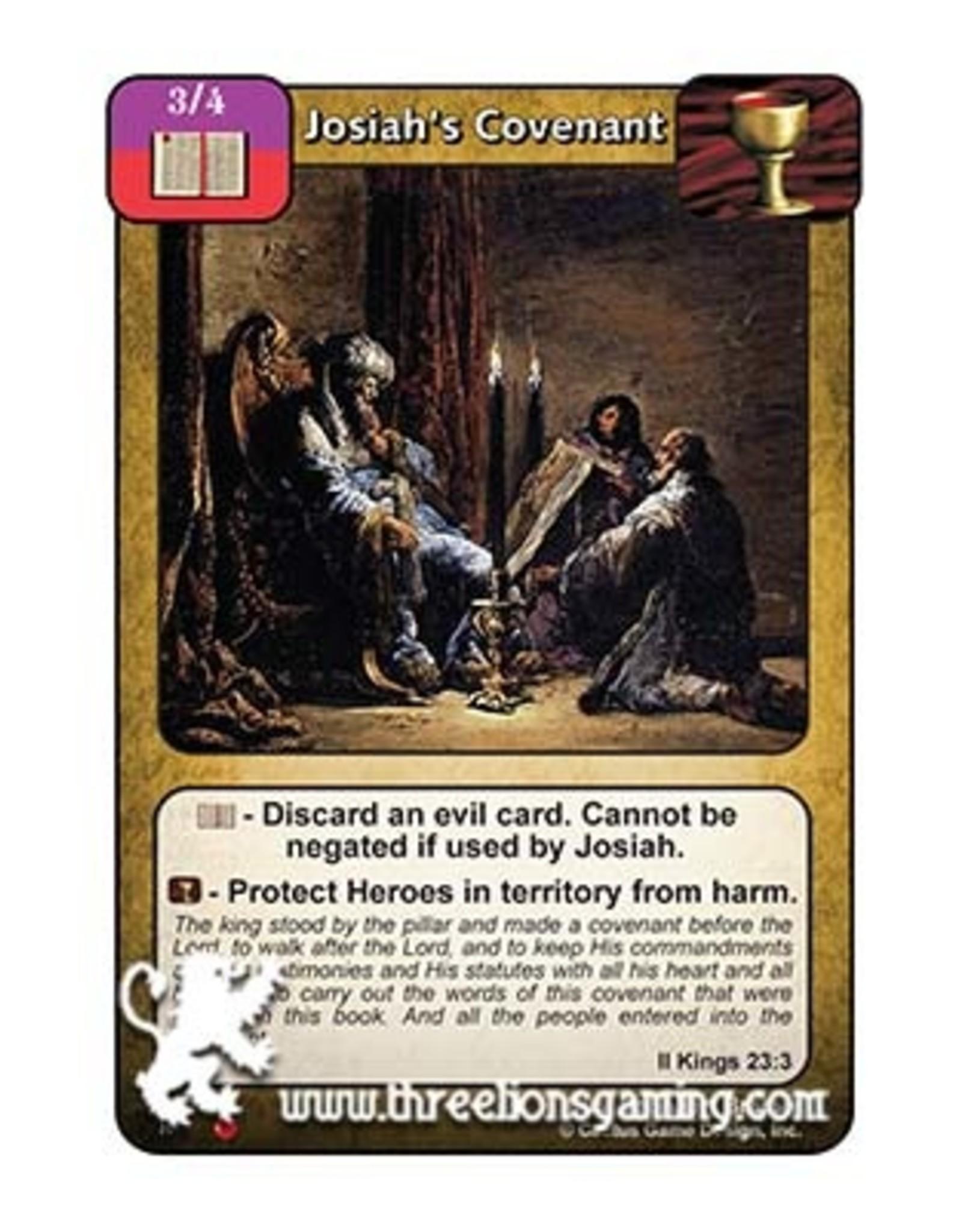LoC: Josiah's Covenant