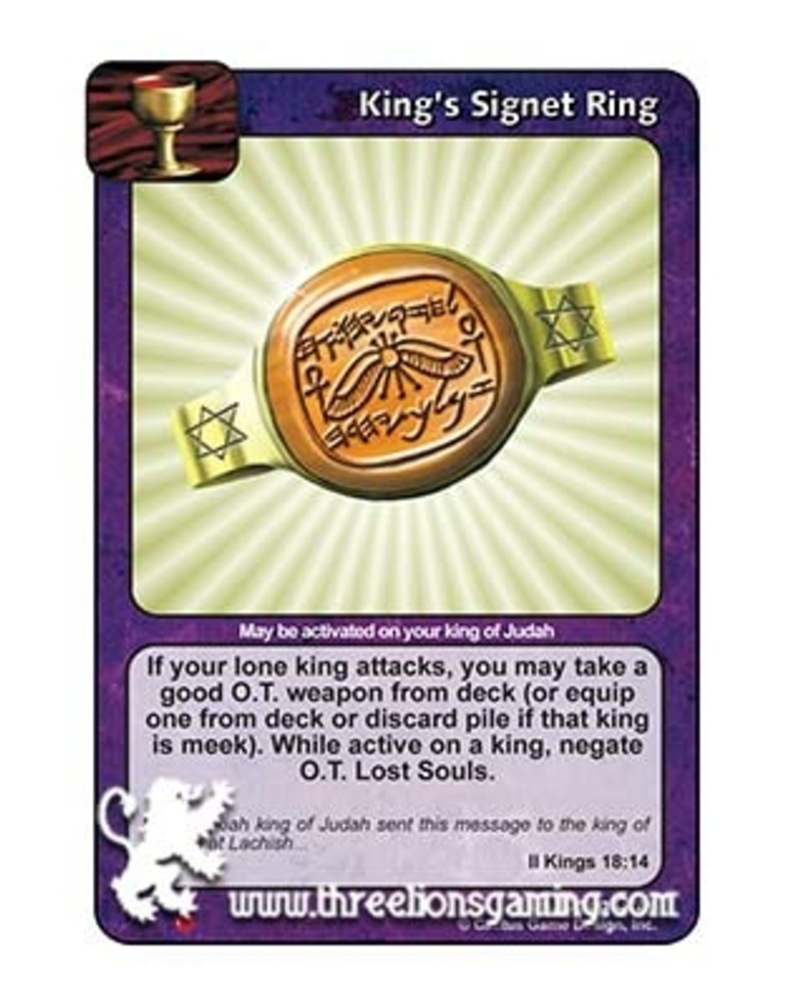 LoC: King's Signet Ring