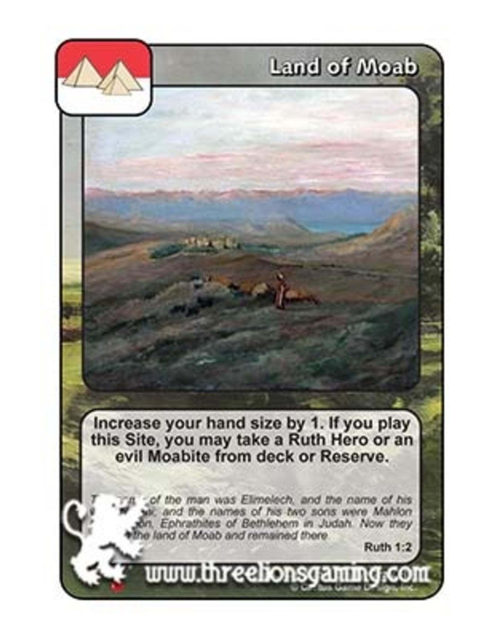 LoC: Land of Moab