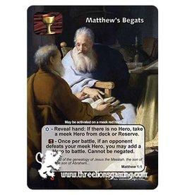 LoC: Matthew's Begats
