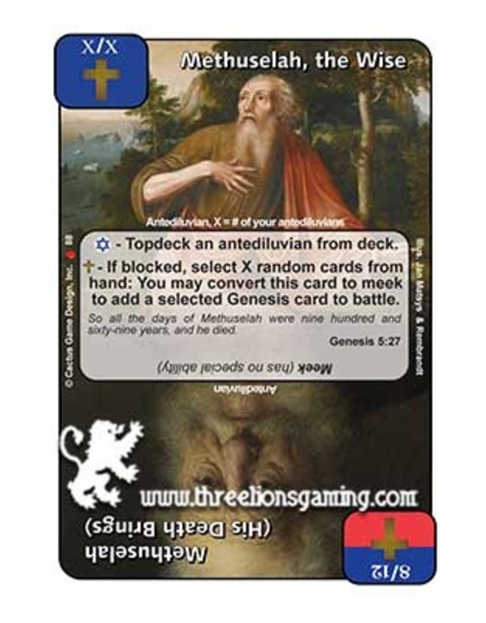 Methuselah, the Wise / Methuselah (His Death Brings) (LoC)