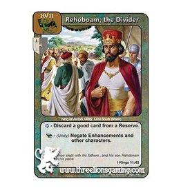 Rehoboam, the Divider