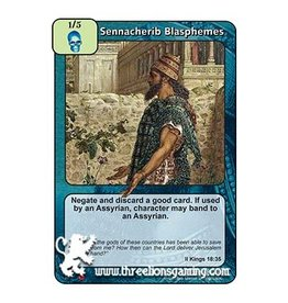 LoC: Sennacherib Blasphemes