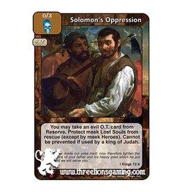 LoC: Solomon's Oppression