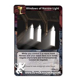 LoC: Windows of Narrow Light
