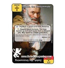 LoC: Zadok, the Consummate / Zadok, the Unassuming