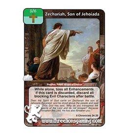 LoC: Zechariah, Son of Jehoiada