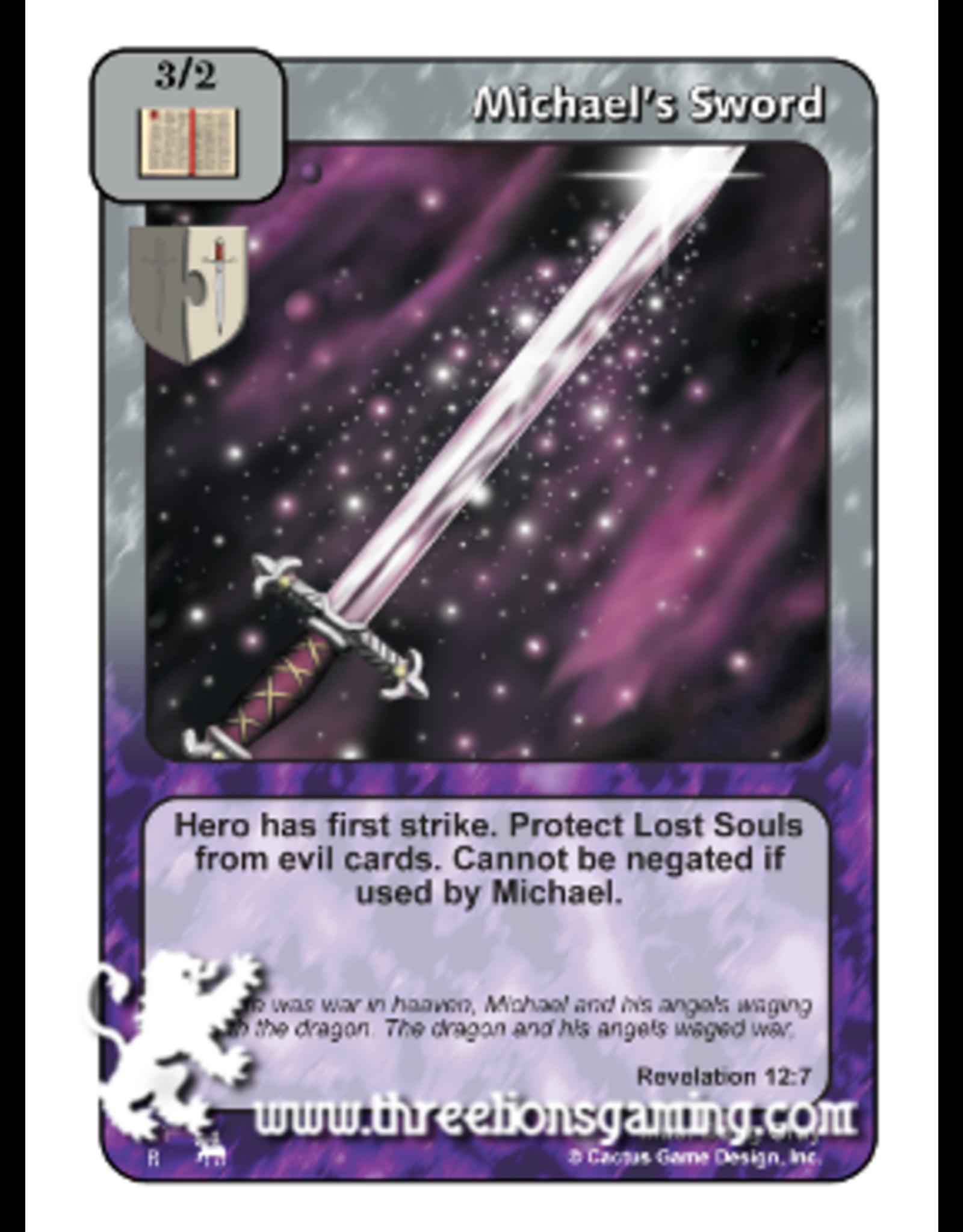 Michael's Sword (RJ)