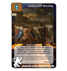 FoM: Golden Calf Worship