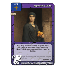 FoM: Japheth's Wife