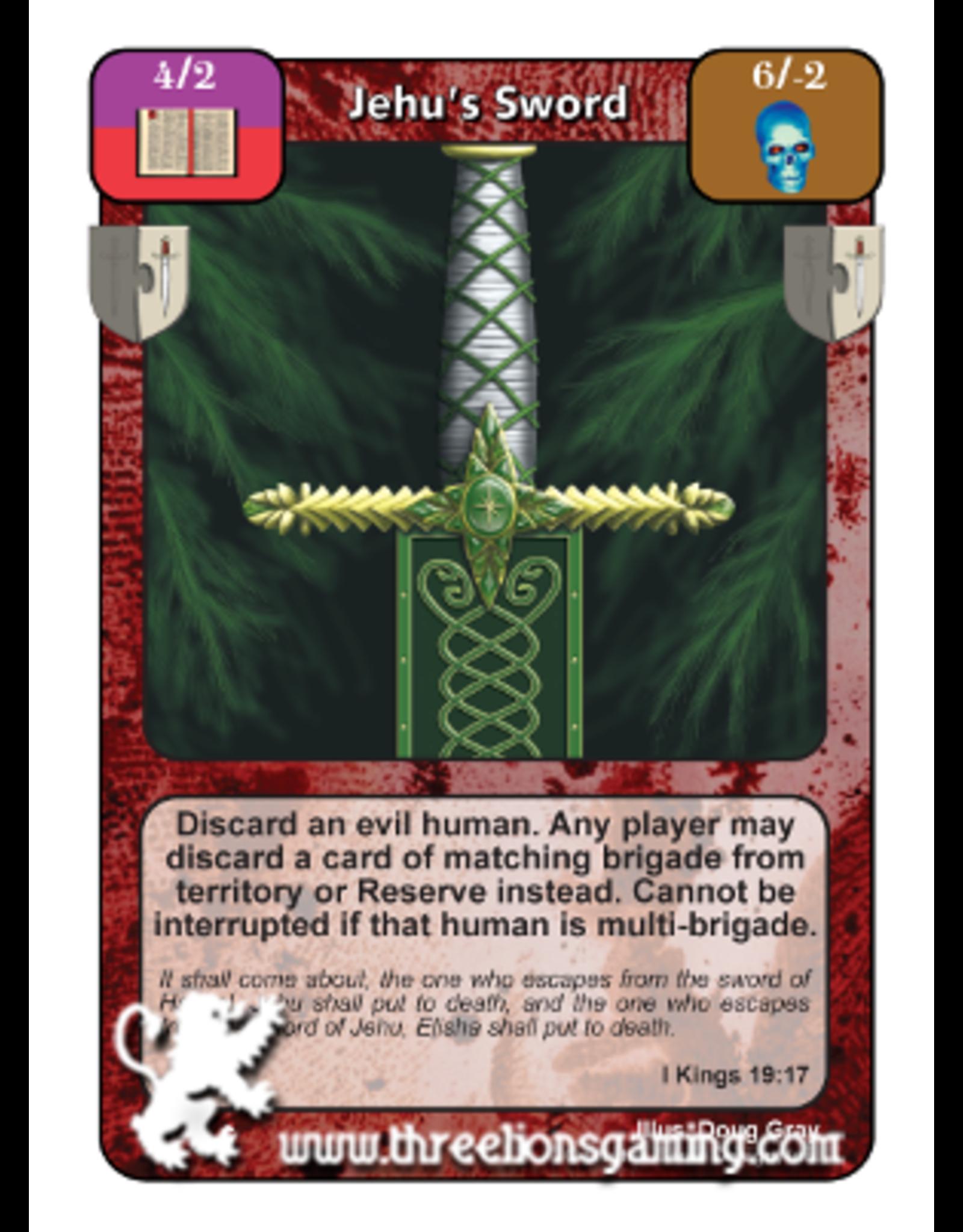Jehu's Sword (FoM)