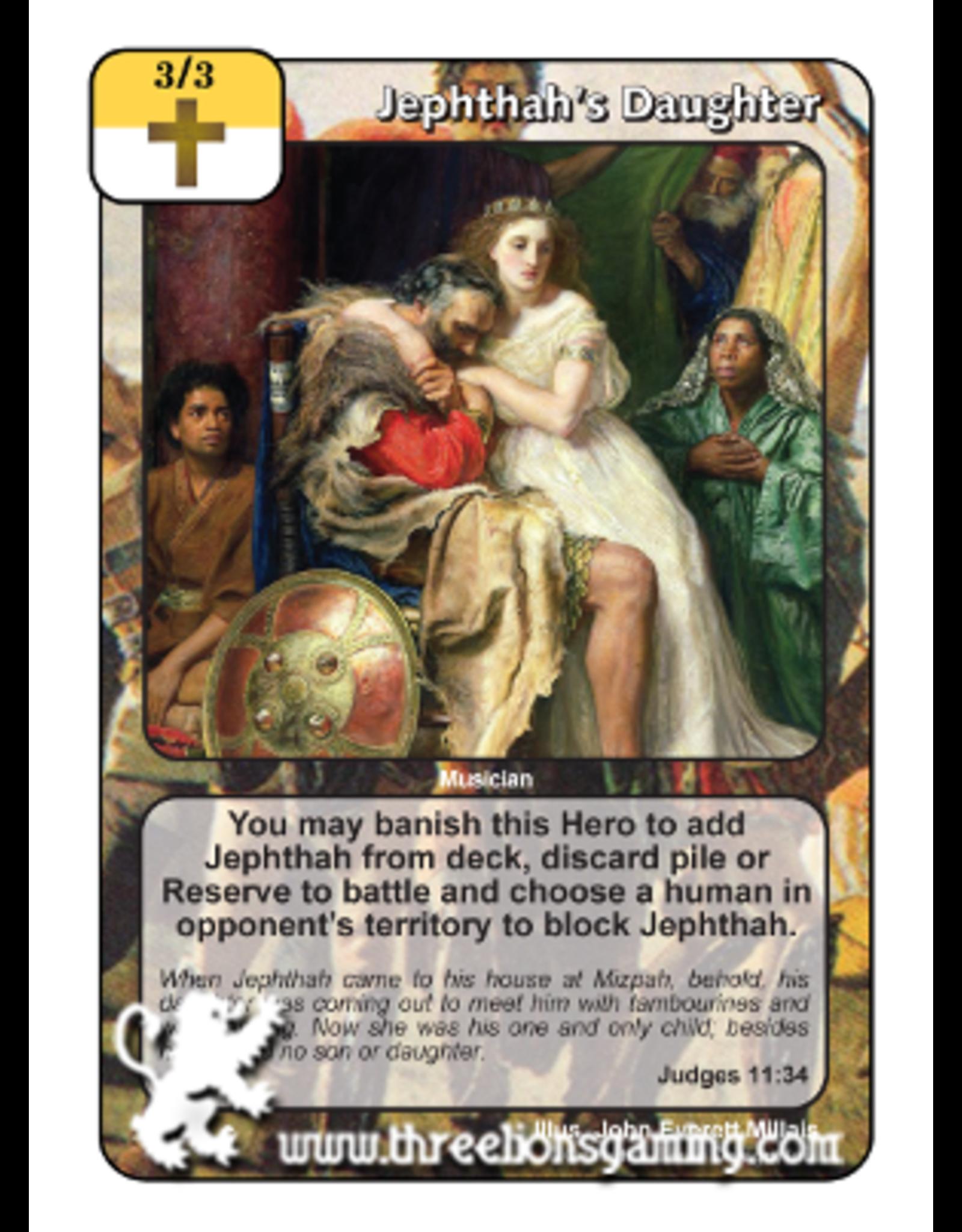 FoM: Jephthah's Daughter
