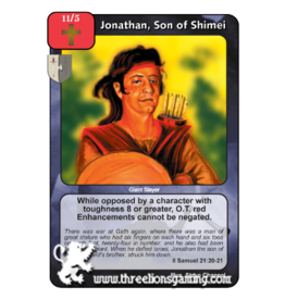 FoM: Jonathan, Son of Shimei